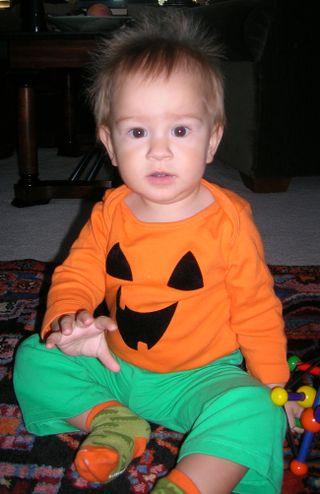 J on Halloween